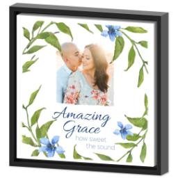 Thumbnail for 12x12 Photo Canvas With Floating Frame with Amazing Grace design 2