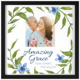 Thumbnail for 16x16 Photo Canvas With Contemporary Frame with Amazing Grace design 1