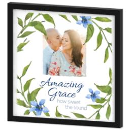 Thumbnail for 16x16 Photo Canvas With Contemporary Frame with Amazing Grace design 2