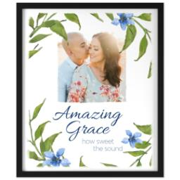 Thumbnail for 20x24 Photo Canvas With Contemporary Frame with Amazing Grace design 1