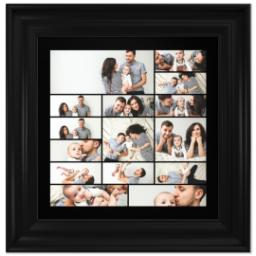 Thumbnail for 12x12 Collage Canvas With Traditional Frame with Custom Color Collage design 1