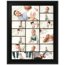 Thumbnail for 16x20 Collage Canvas With Floating Frame with Custom Color Collage design 1