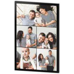 Thumbnail for 24x36 Collage Photo Canvas with Custom Color Collage design 3