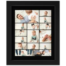 Thumbnail for 8x10 Collage Canvas With Contemporary Frame with Custom Color Collage design 1
