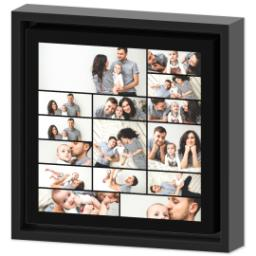 Thumbnail for 8x8 Collage Canvas With Floating Frame with Custom Color Collage design 2