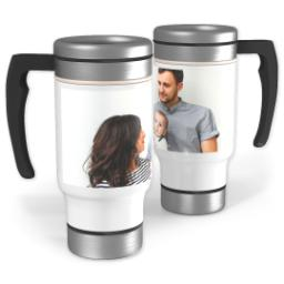 Thumbnail for Stainless Steel Photo Travel Mug, 14oz with Full Photo design 1