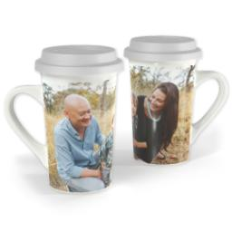 Thumbnail for Premium Grande Photo Mug with Lid, 16oz with Full Photo design 1