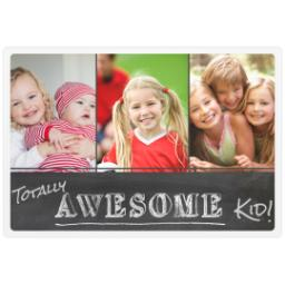 Thumbnail for Photo Placemat with Totally Awesome Kid design 1