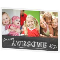 Thumbnail for Photo Placemat with Totally Awesome Kid design 2