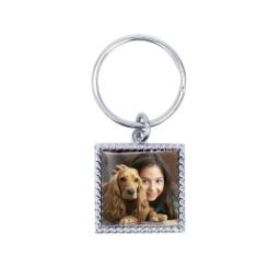 Thumbnail for Photo Rope Keychain with Full Photo design 1