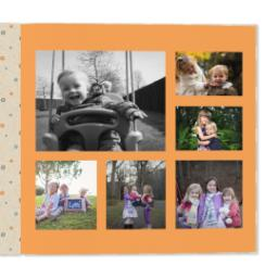 Thumbnail for 12x12 Premium Layflat Photo Book with Kraft Paper Pop design 4