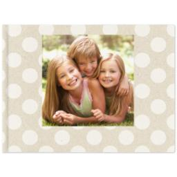 Thumbnail for 8x11 Premium Layflat Photo Book with Kraft Paper Pop design 1