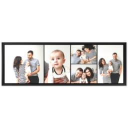 Thumbnail for 20x60 Collage Canvas With Floating Frame with Custom Color Collage design 1