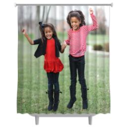 Thumbnail for Photo Shower Curtain with Full Photo design 1