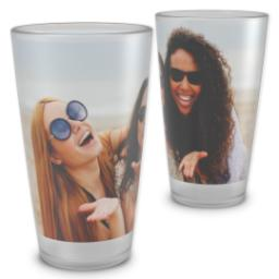 Thumbnail for Pint Glass with Full Photo design 2