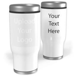 Thumbnail for Stainless Steel Collage Tumbler, 13oz with Upload Your Logo design 2
