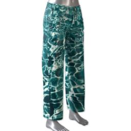 Thumbnail for Pajama Pant (Women M) with Full Photo design 1