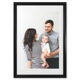 "Thumbnail for 20x30 Photo Matte Print with 24x36 2"" Traditional Black Frame with Full Photo design 1"