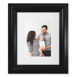 "Thumbnail for 5x7 Fine Art Print with 8x10 2"" Traditional Black Frame with Full Photo design 1"