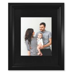 "Thumbnail for 8x10 Photo Matte Print with 11x14 2"" Traditional Black Frame with Full Photo design 1"