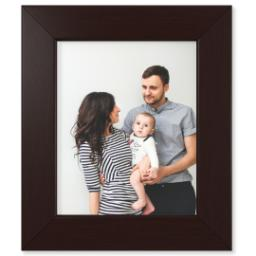 "Thumbnail for 8x10 Photo Matte Print with 8x10 1.5"" Brown Wood Frame with Full Photo design 1"