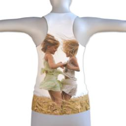 Thumbnail for Photo Racerback Tank (Women M) with Full Photo design 2