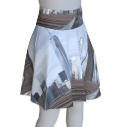 Thumbnail for Photo Skater Skirt - Suede (Women XS) with Full Photo design 4