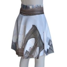 Thumbnail for Photo Skater Skirt - Suede (Women XXL) with Full Photo design 3