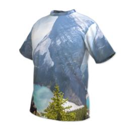 Thumbnail for Photo Short Sleeve T-Shirt (Men XL) with Full Photo design 2