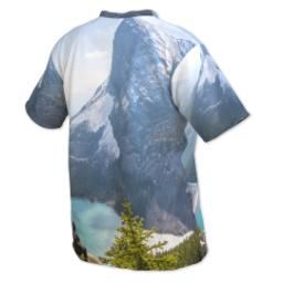 Thumbnail for Photo Short Sleeve T-Shirt (Men XL) with Full Photo design 3