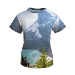 Thumbnail for Photo Short Sleeve T-Shirt (Women XS) with Full Photo design 1