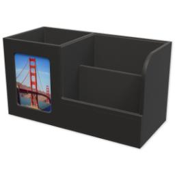 Thumbnail for Leatherette Desk Set with Full Photo design 2