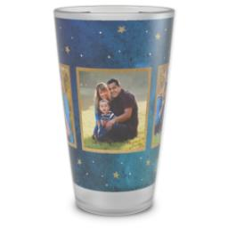 Thumbnail for Pint Glass with Watercolor Stars design 1