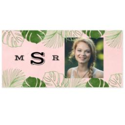 Thumbnail for Shot Glass with Tropical Border design 3