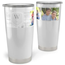 Thumbnail for 20oz Vacuum Travel Tumbler with Family Shield design 1