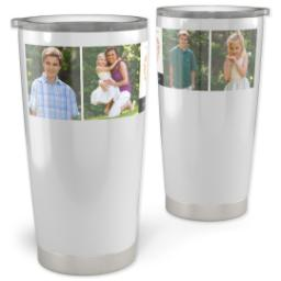 Thumbnail for 20oz Vacuum Travel Tumbler with Heart Wishes design 1