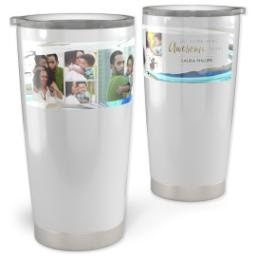 Thumbnail for 20oz Vacuum Travel Tumbler with Modern Abstract design 1